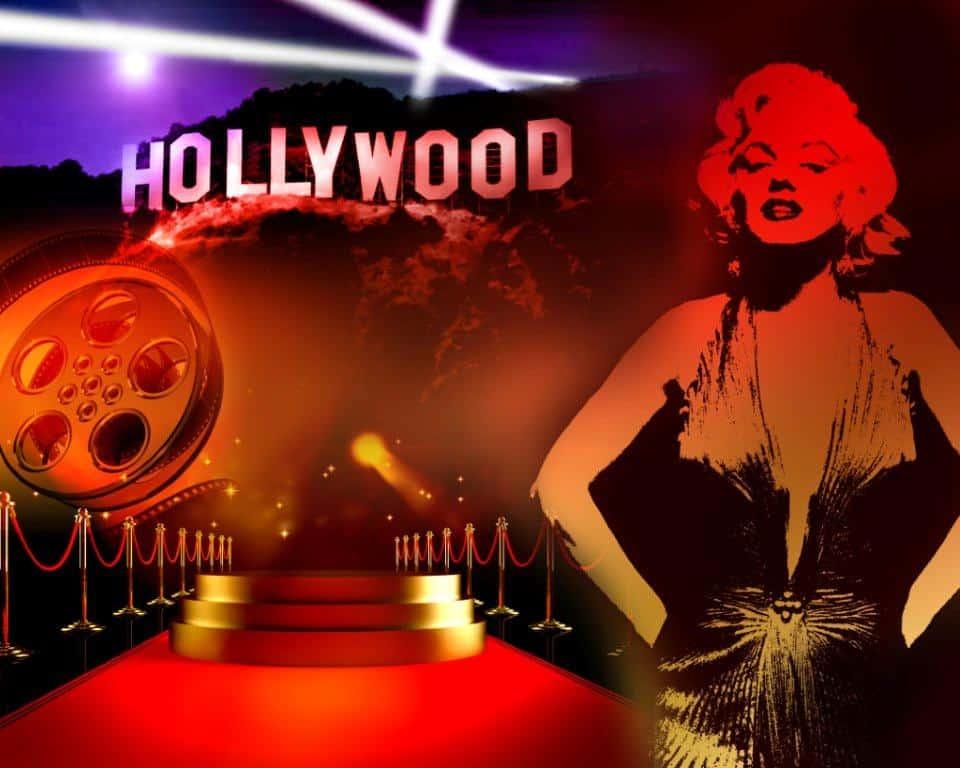 hollywood backdrop