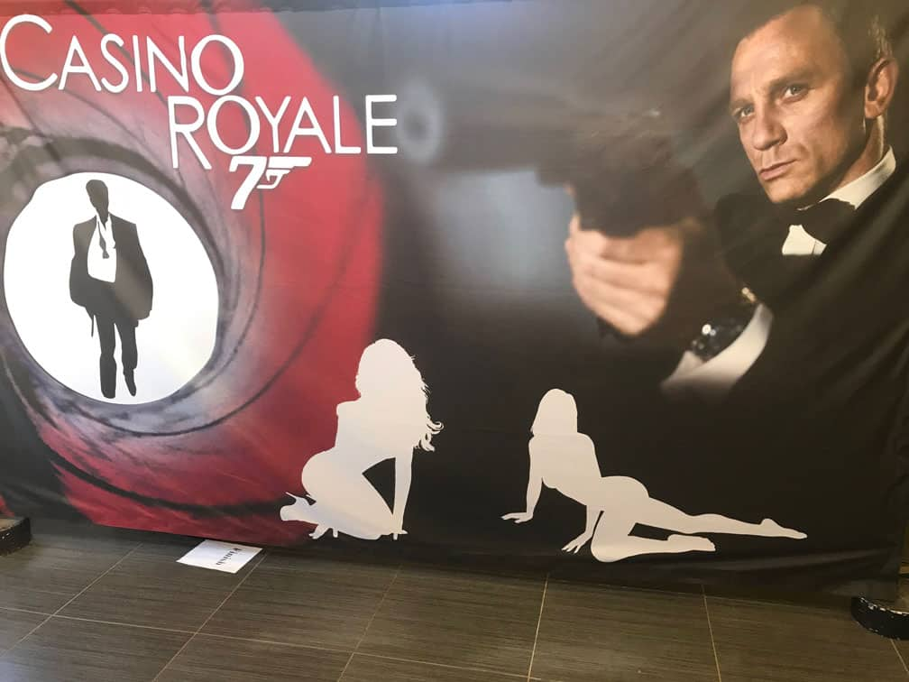 Casino Royale backdrop