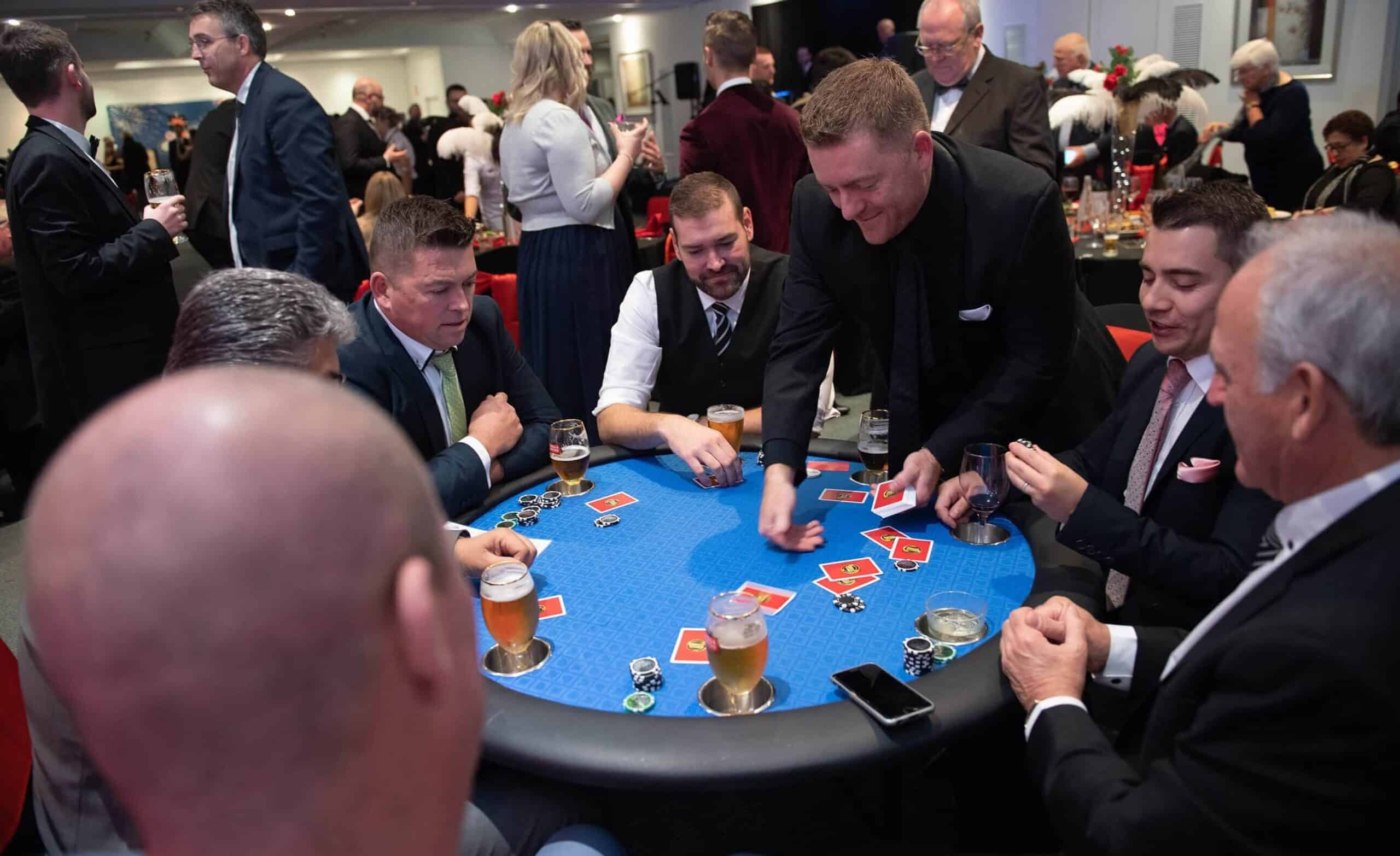 People around a poker table